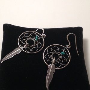 Stealing silver 925 earrings , vintage